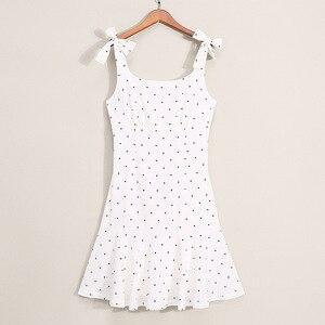 Image 5 - PPXX Familie Passenden Kleidung Mutter Tochter Kleid Polk Dot Mom Mädchen Kinder Familie Spiel Outfit Baby Mädchen Kleider Vestidos