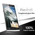 Oppo find 5 original 9 h de alta qualidade película protetora de vidro temperado protetor de tela à prova de explosão-para x909 x909t
