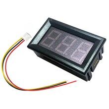 0.56inch DC 2.5-30V LED Digital Voltmeter Voltage Meter Car Motorcycle Volt Tester Detector Capacity Monitor