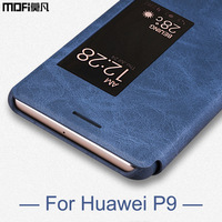 Huawei P9 Case Mofi Smooth Cover PU Leather Smart Case For Huawei P9 Case Cover 5