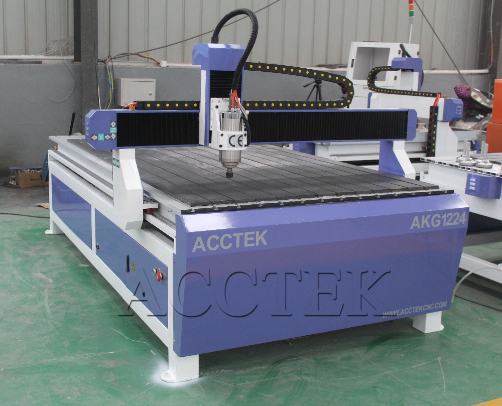 ACCTEK carve wood machine/wood cnc router 1224 high quality cnc milling machine