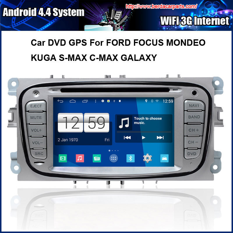 Android 4.4.4 1024*600 Capacitive Screen Car DVD GPS For FORD FOCUS MONDEO KUGA S-MAX C-MAX GALAXY