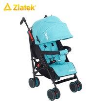 Детская прогулочная открытая коляска Zlatek Discovery для детей от 7 месяцев до 3 лет, весом до 15 кг.