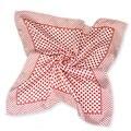 Venda de la bufanda de seda del pequeño facecloth cuadrado en 50 cm Red dot bufanda bandanas pañuelo pañuelo silenciador b297