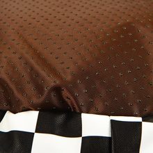 Soft Plaid Leather Bed