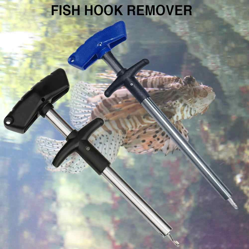 Professional T-type/spray-type Fishing Hook Remover Easy Fish Fishing Tool Minimizing Injuries Tools Decoupling Device