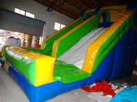 2017 Factory Price Inflatable Slide Outdoor Playground Amusement Park Inflatable Land Slide For Sale