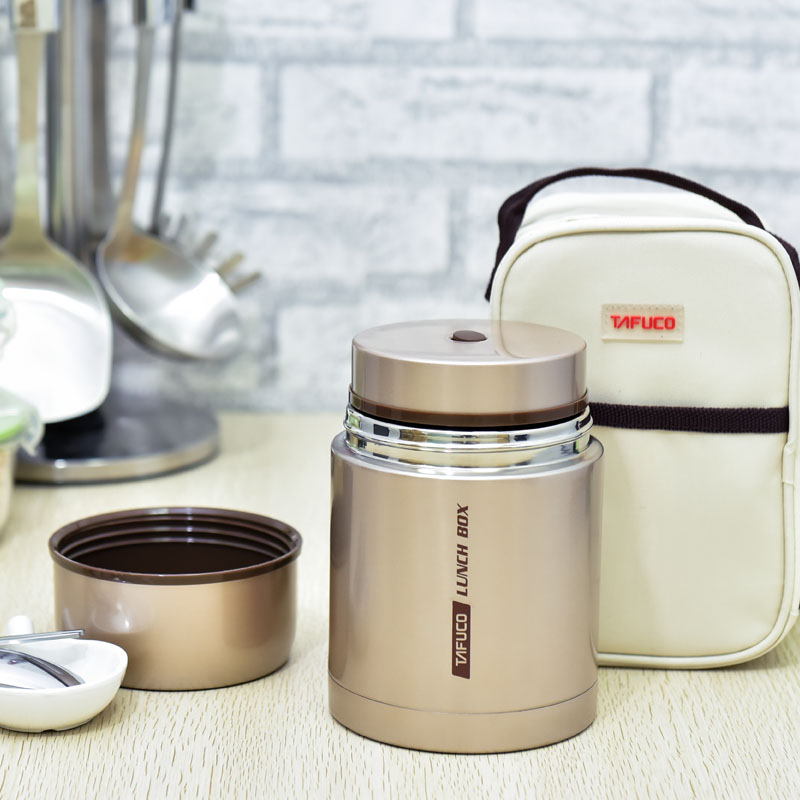 Stainless Steel Vacuum Stew Pot Thermal Lunch Box Insulation Barrels Porridge Bucket Braised Beaker Baked Pot bear ddz b12d1 electric cooker waterproof ceramics electric stew pot stainless steel porridge pot soup stainless steel cook stew