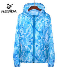 2017 Summer Couple Sun Screen UV Protection Hiking Jacket Quick Dry Men Women Thin Coat Basic Hoodie Outwear Transparent Zipper(China)