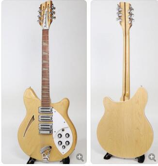 Guitarra Eléctrica 12 cuerdas guitarra. Ricky cuerpo hueco