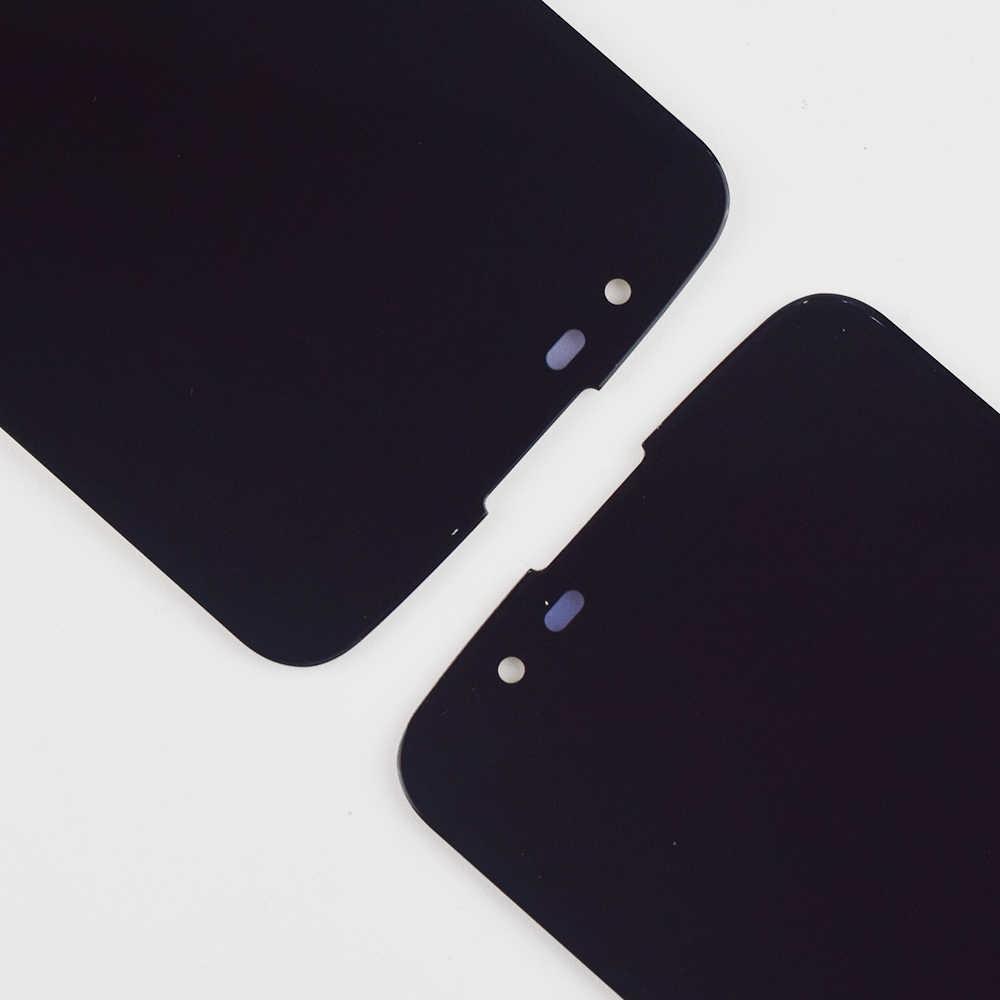 ل LG K10 LTE K430 K430DS/K410 K420 K420n جهاز مراقبة بشاشة إل سي دي وحدة ألواح شمسية + اللمس شاشة لوح مستشعر الزجاج الجمعية