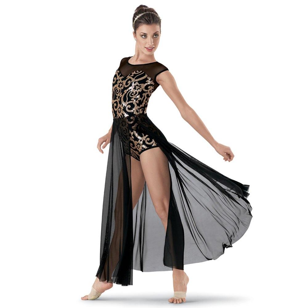 Beauté Ballet danse robes pour fille bleu rouge noir dames Tutu bulle mode enfants adultes montrant des Costumes compétitifs B171
