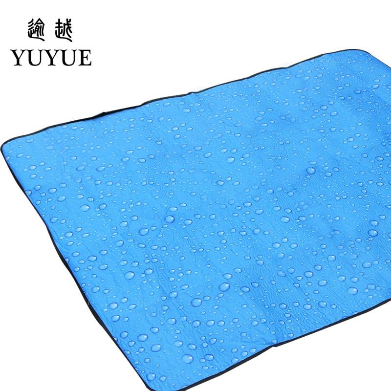 150*180cm beach mats for outdoor camping tent fishing picnic camping mattress beach blanket for outdoor tent send free mat 4