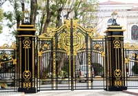 Aluminium Gates Driveway Gates Wrought Iron Gates Forged Iron Gates Hench 31