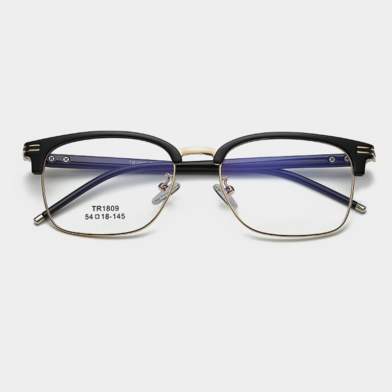 Computer Myopie Optische Mode Männer Männlich Metall Rosa Volle Augen Frauen Für Gläser Brillen P8qwCw