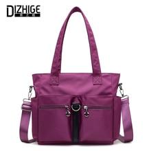 DIZHIGE Brand Fashion Nylon Shoulder Bag Women Messenger Bags Large Capacity Crossbody Bag For Women Casual Totes Bags 2018 New