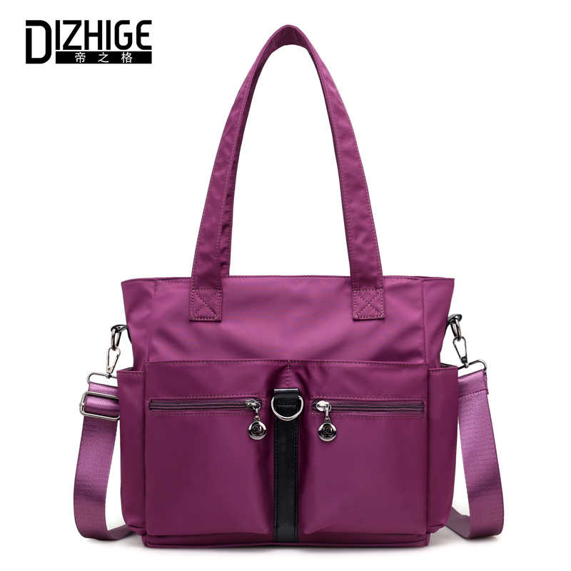 7807c658668 DIZHIGE Brand Fashion Nylon Shoulder Bag Women Messenger Bags Large  Capacity Crossbody Bag For Women Casual Totes Bags 2018 New