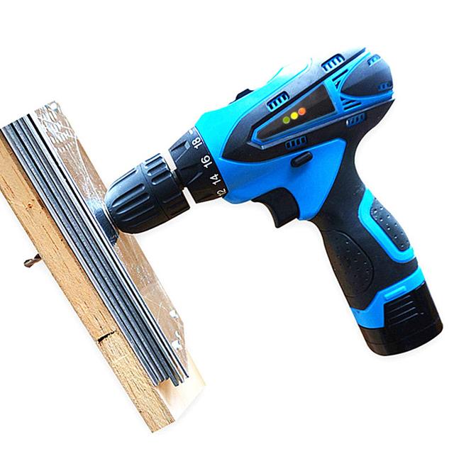 16.8V Cordless Screwdriver Battery*2 Rechargeable Electric Drill Parafusadeira Furadeira Electric Screwdriver Battery Power Tool