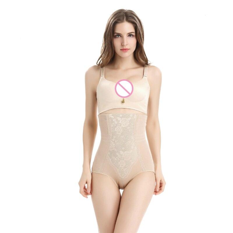 Cotton Women waist tighten body shaper slimming underwear thick control panties Postpartum hot body shaper waist cincher corset