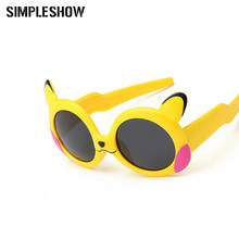 46bd80a2ba7 SIMPLESHOW Lovely Polarized Sunglasses Children Cartoon Sun Glasses Kids  Goggles Boys Glasses Girls Eyewear oculos