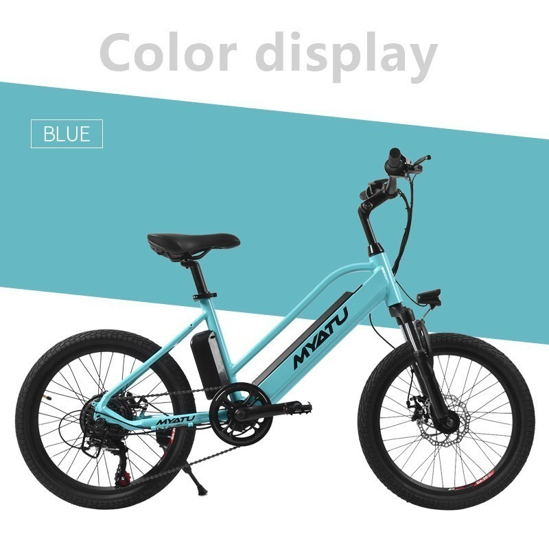 LOVELION Electric Bike 36V7 5A Lithium Battery 20 inch Aluminum Electric Bicycle 250W Powerful Mountain e bike Snow beach ebike in Electric Bicycle from Sports Entertainment
