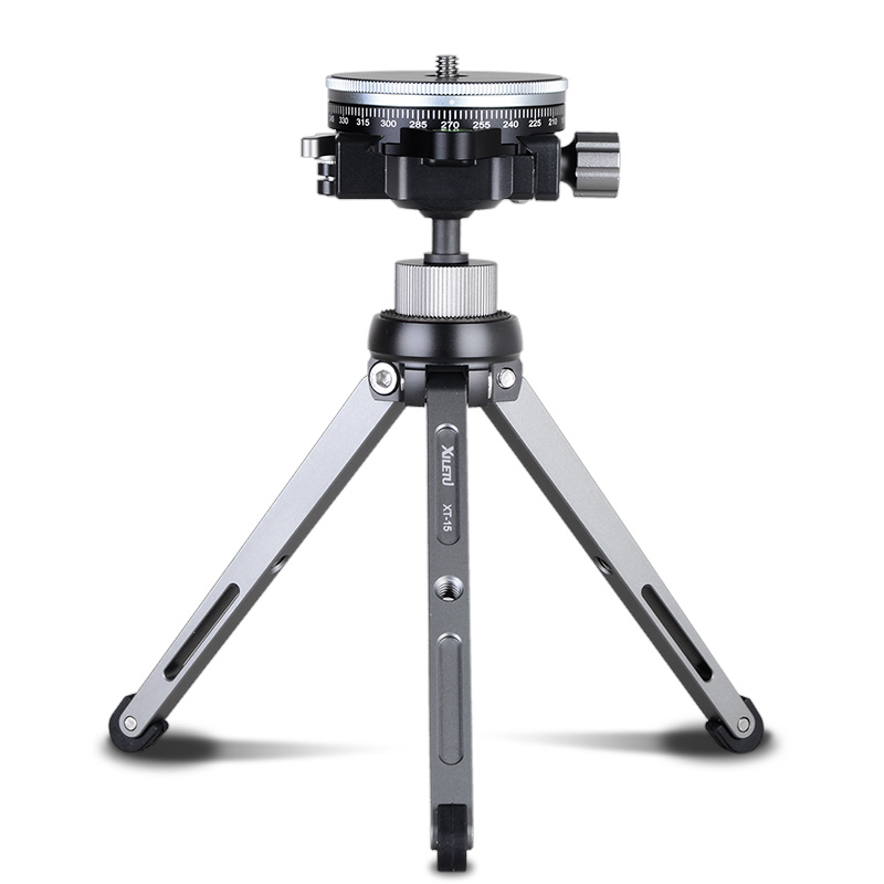 GIZOMOS XILETU TPC-60 Tripod Head ACRA SWISS Panoramic Tripod Head Video 360 Camera MiNi Tripod Head For Camera DSLR Alluminum
