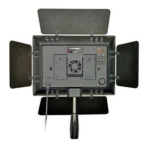 Image 3 - Yongnuo YN 900 yn900 5500 k sem fio led painel de luz vídeo pro led vídeo studio luz controle para canon com adaptador energia dc
