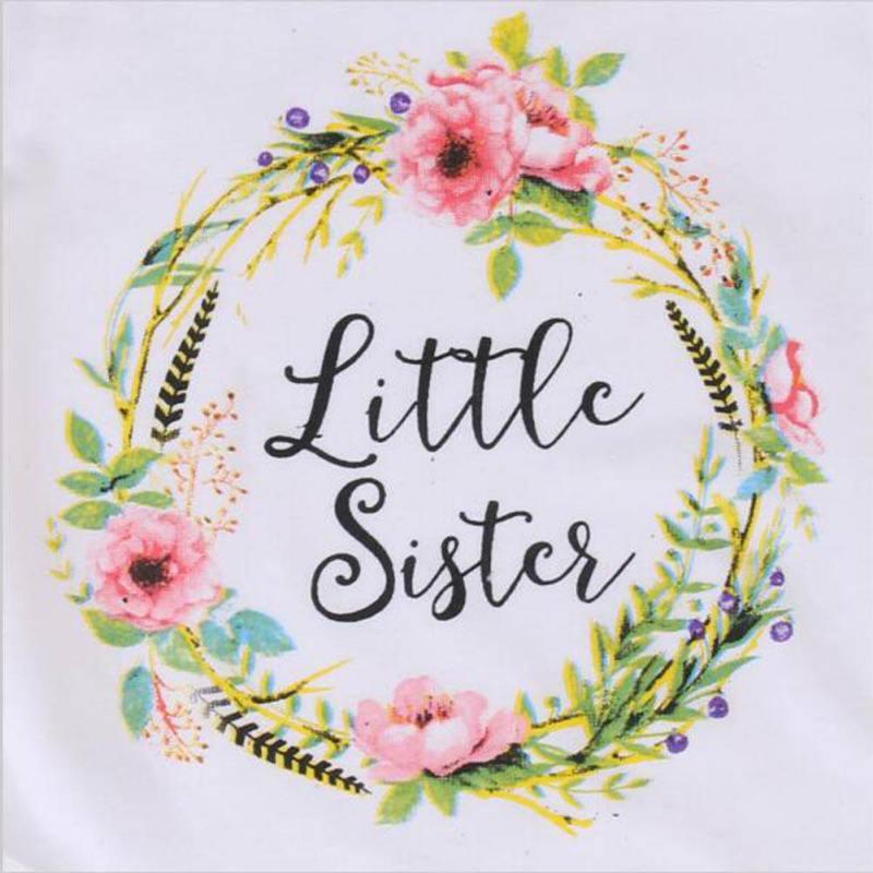 Zomer Baby Kinderen Meisjes Little Big Sister Match Kleding Jumpsuit - Kinderkleding - Foto 5