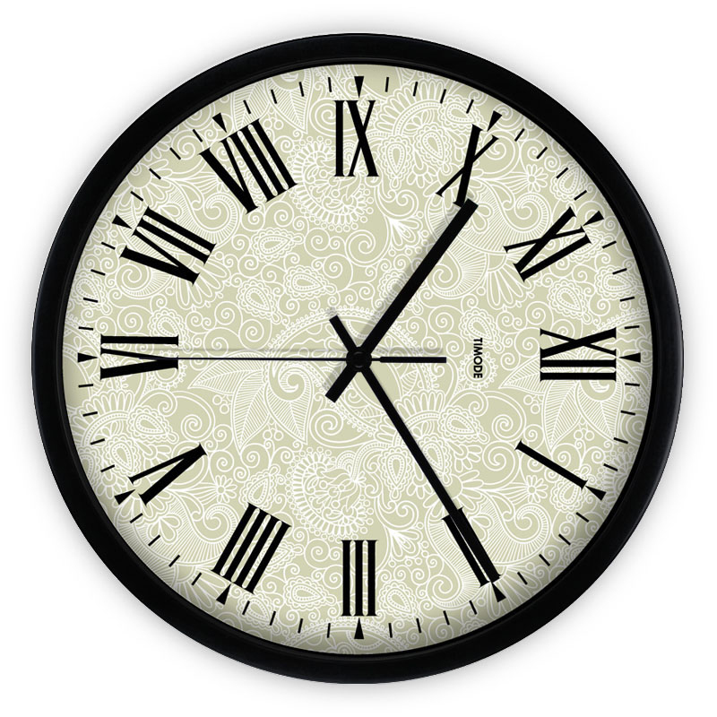 large metal modern wall wall clocks european style grande horloge horloge murale. Black Bedroom Furniture Sets. Home Design Ideas