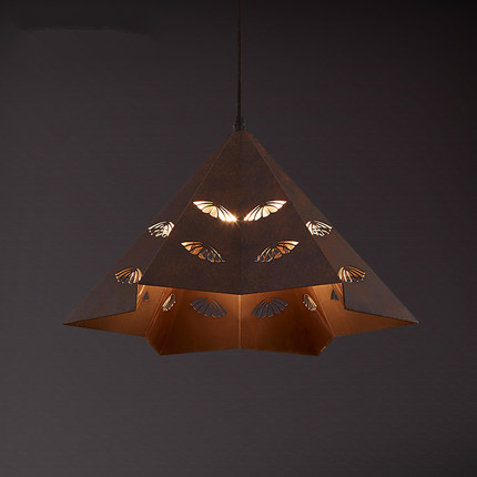 ФОТО American Hollow LED Pendant Lights Vintage Creative Pendant Lamp Hanglamp Fixtures For Home Lightings Lamparas Colgantes