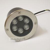 Wholesale Led Rgb Recessed 12V 6W Dia120mm 10pcs Led Floor Light Warm White Natural White Cold