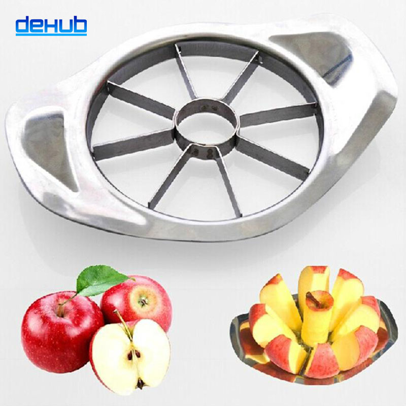 Hot Sale Stainless Steel Slicer Fruit Knife Apple Cutter Apple Peeler Dicing...