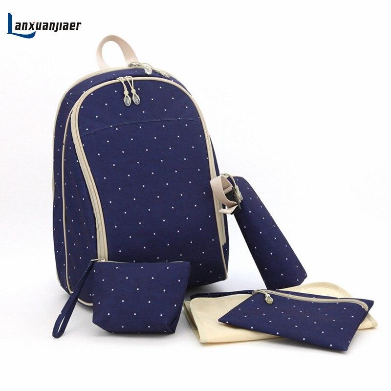 Mummy Rucksack Babywindel Wickeltasche Mode Mutterschaft Mami Handtasche Wickeltasche für Babys Pflege Veranstalter Produkt