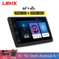Android 8.1 2 Din multimédia vidéo Playe 2G 32G autoradio pour universel voiture lecteur dvd GPS navigation voiture accessoire 4G internet