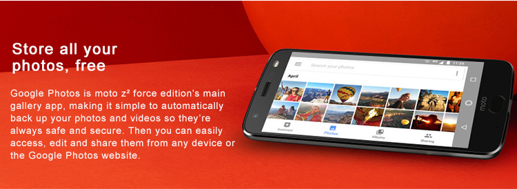 Motorola MOTO Z2 FORCE XT1789-05 4G LTE Smartphone