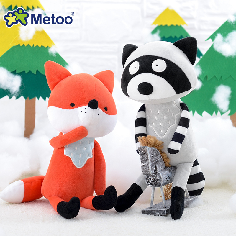 Metoo Doll Stuffed Toys Plush Animals Soft Kids Baby Toys for Girls Children Boys Birthday Gift Kawaii Cartoon Hot Fox koala 7pcs 8pcs a set how to train your dragon 2 action figure toys night fury toothless gronckle deadly nadder dragon toys for boys