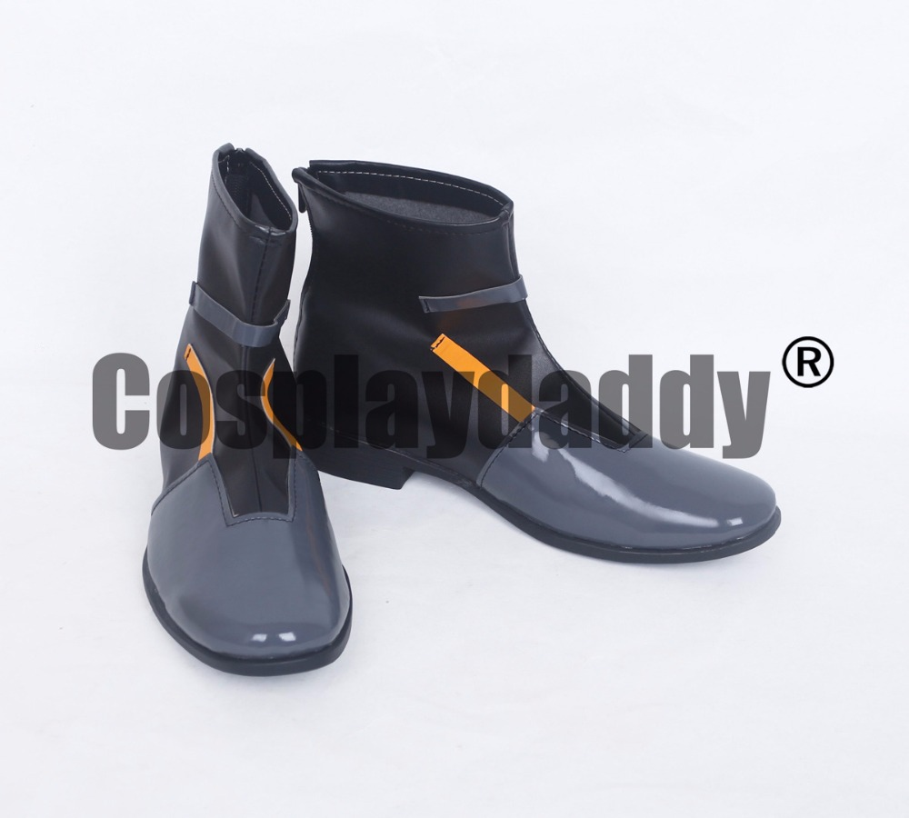 Closers Online Official Agent Version Wolfgang Schneider Cosplay Boots Shoes S008