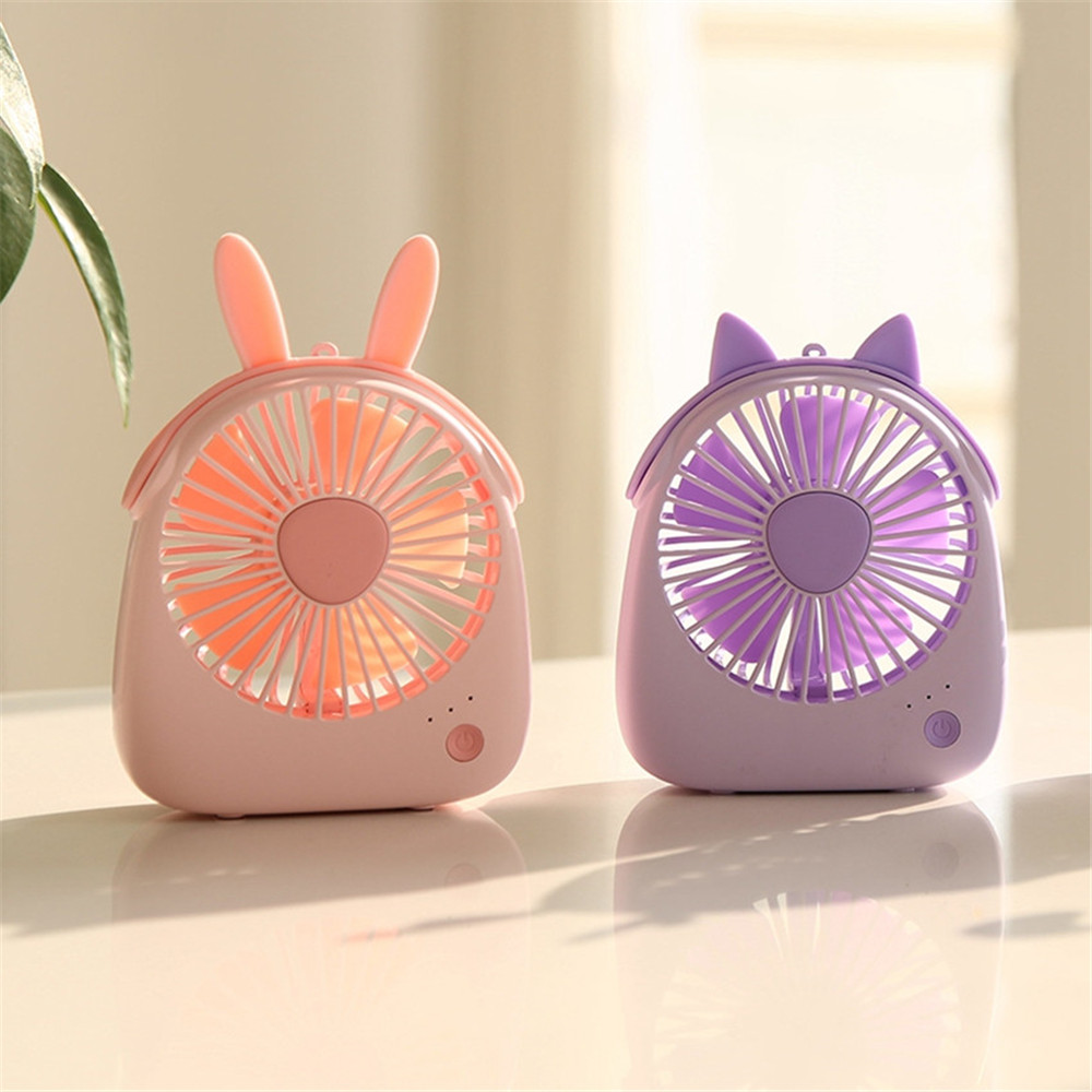 USB Gadgets Cool Fan Portable Electric Mini USB Fan Quiet Summer Cooler Desktop Office Fan (2)
