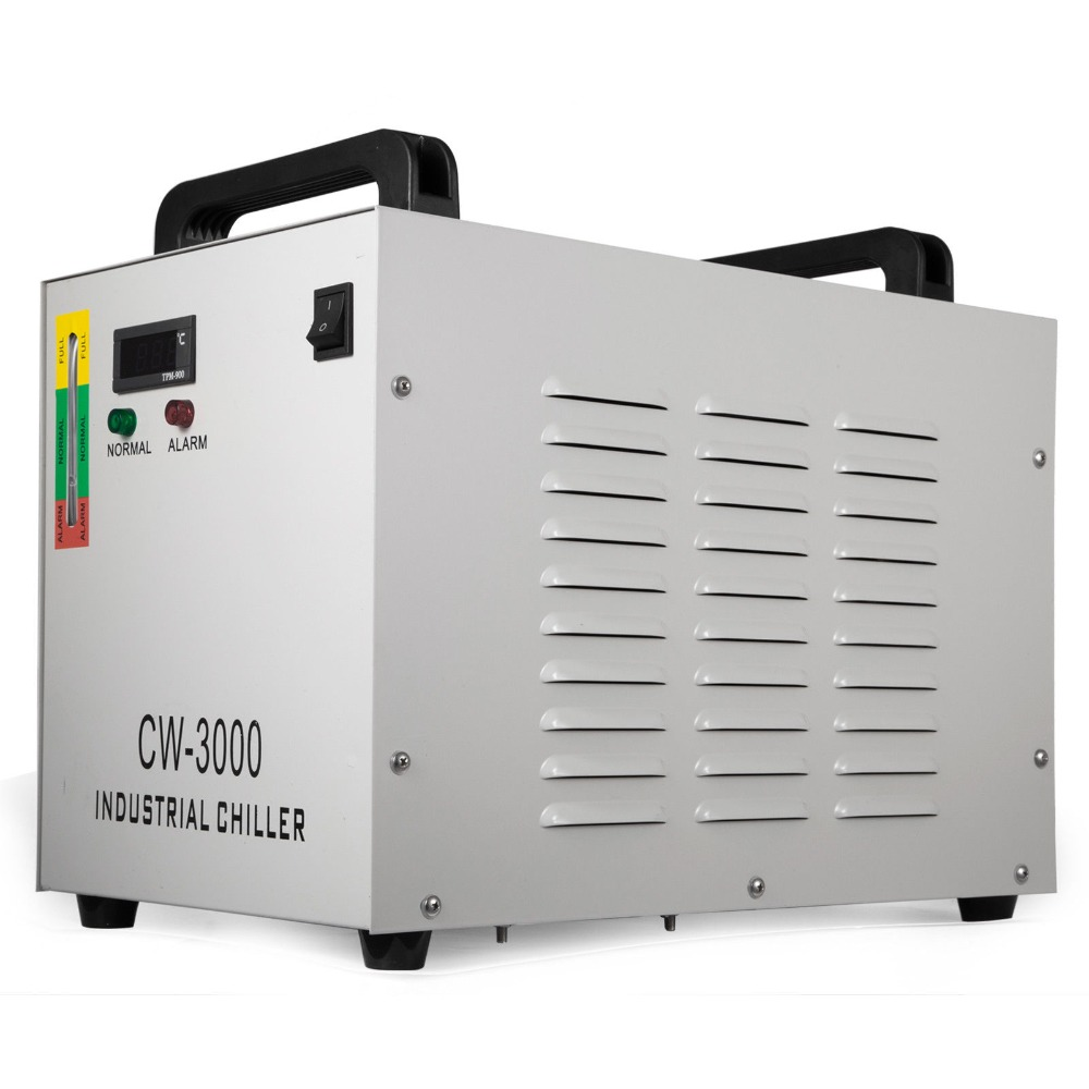 VEVOR CW-3000  Industrial Water Cooler Chiller For CNC/ Laser Engraver Engraving Machines