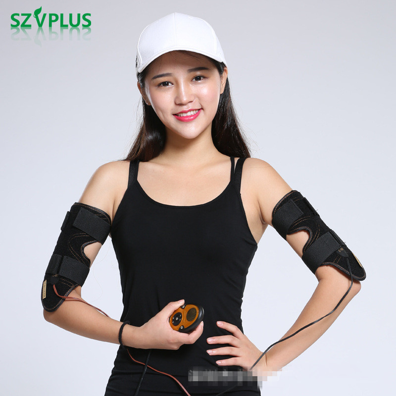 Rechargeable EMS arm slimming belt Electric Smart calf Arm Exerciser Weight Loss Slimming Tens low frequence Intensive Massager