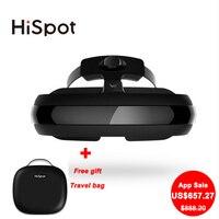 Hispot H2 Video Glasses 800inch Virtual Screen Smart Glasses 3D VR Glasses VR Games Film VR
