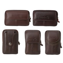 Pouch Money Coin Wallet Pouch Phone Bag Case Travel Men Waist Bag Small Pack(China)