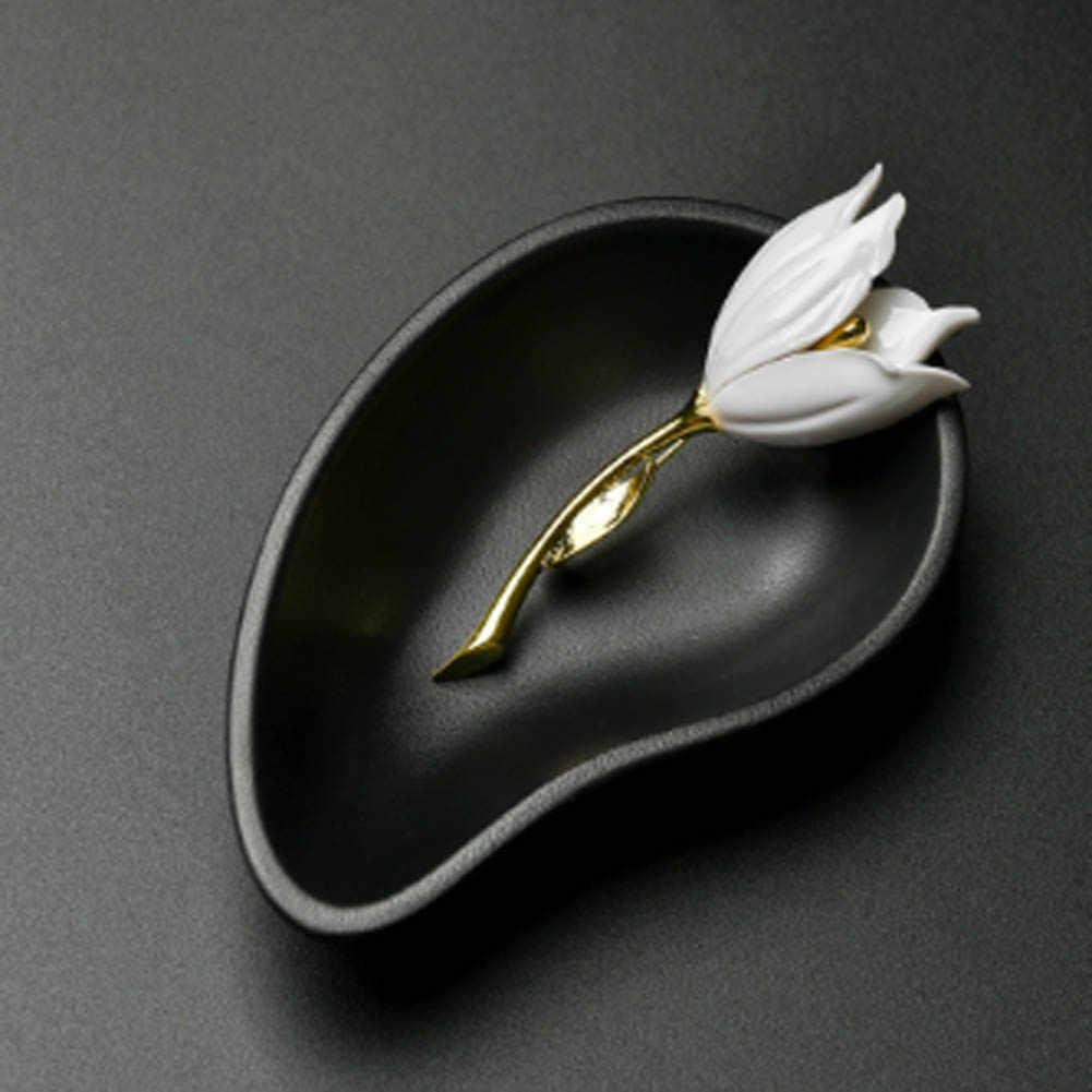 JieyueJewelry エレガントなファッションブローチエレガントなチューリップの花のブローチ必要な女性のアイテム