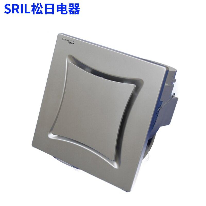 """Plastic Ventilation Fan For Ceiling Bathroom Fan Living Room Fan Pipe Exhaust Fan 8""""-in Exhaust"""