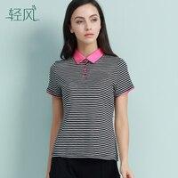 Của Phụ Nữ New Silk 100% Lụa Silk Ngắn Tay T-Shirt Ve Áo Coat Màu Khâu