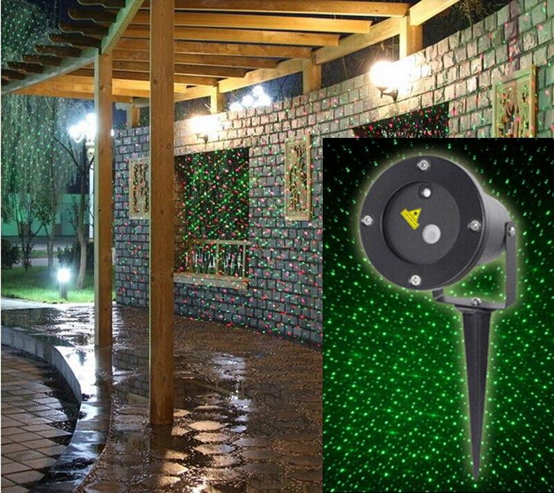 Backyard Twinkle Lights: Xmas IP65 Waterproof Elf Christmas Lights Red Green Moving