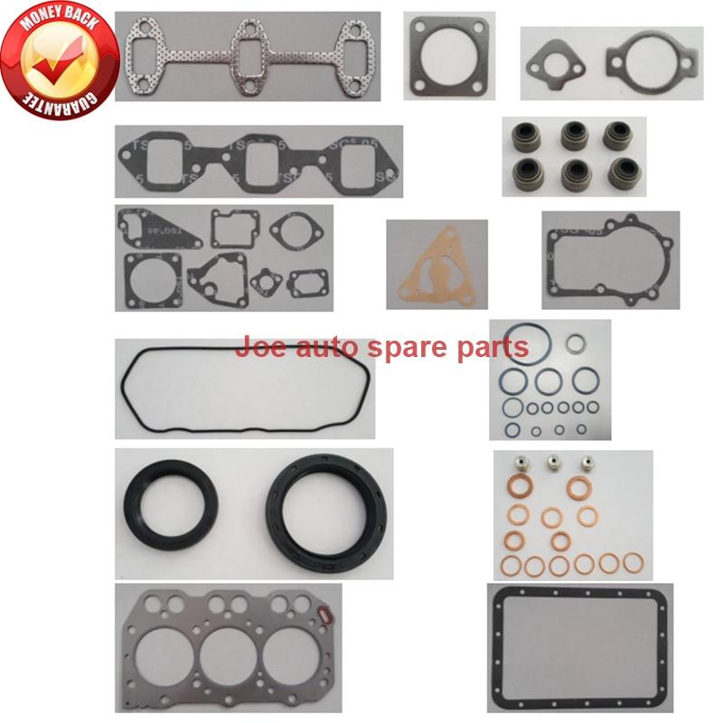 Kit de jeu de joints moteur complet pour moteur Yanmar: 3TNA72 3TNE72 3TNV72 3T72 3TN72 3TNA72UJ pour John Deere F935