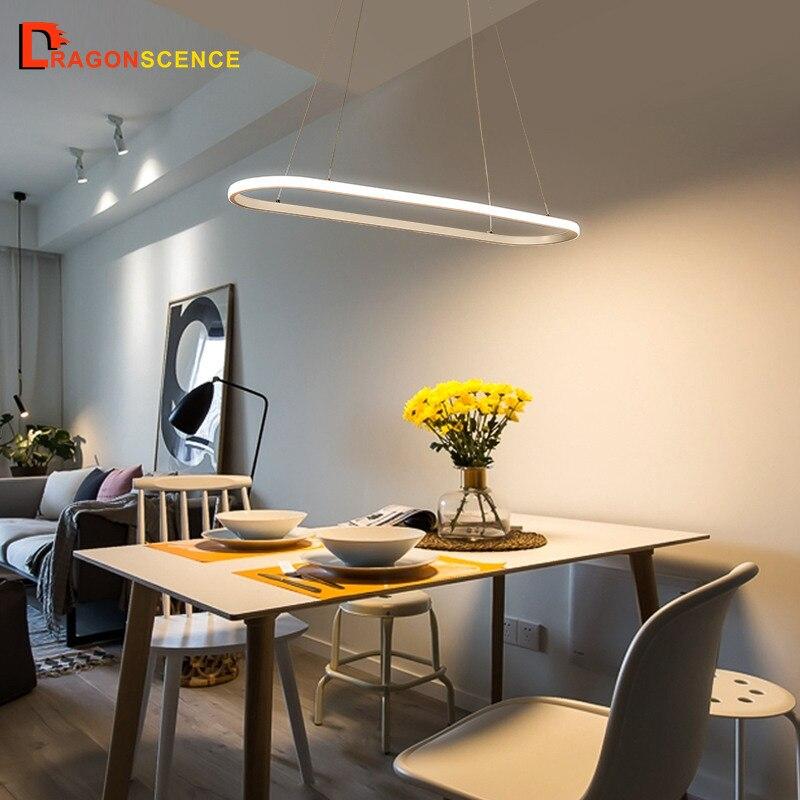 Dragon scence moderne suspension à LED pendentif lampe pendentif anneau luminaires pour salle à manger salon chambre cuisine salon