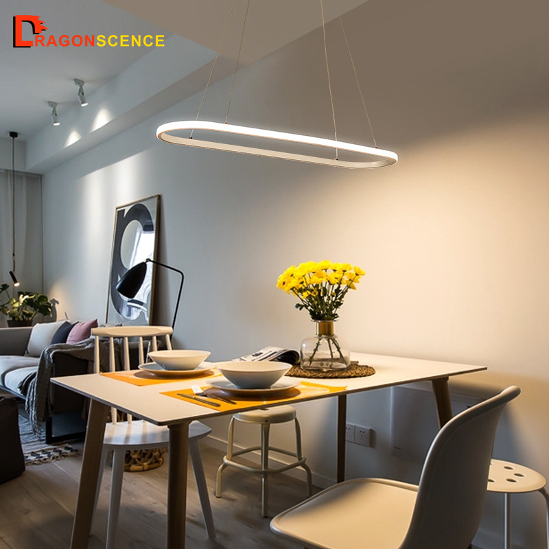 Dragonscence Modern pendant LED light pendant lamp pendant ring fixtures for dining living room bedroom kitchen salonDragonscence Modern pendant LED light pendant lamp pendant ring fixtures for dining living room bedroom kitchen salon