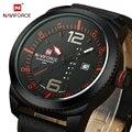 2016 Новый NAVIFORCE Модный бренд Часы Мужчин Кварцевые Часы Авто Дата Неделя Часы Спортивные Часы Человек Военный Наручные Часы